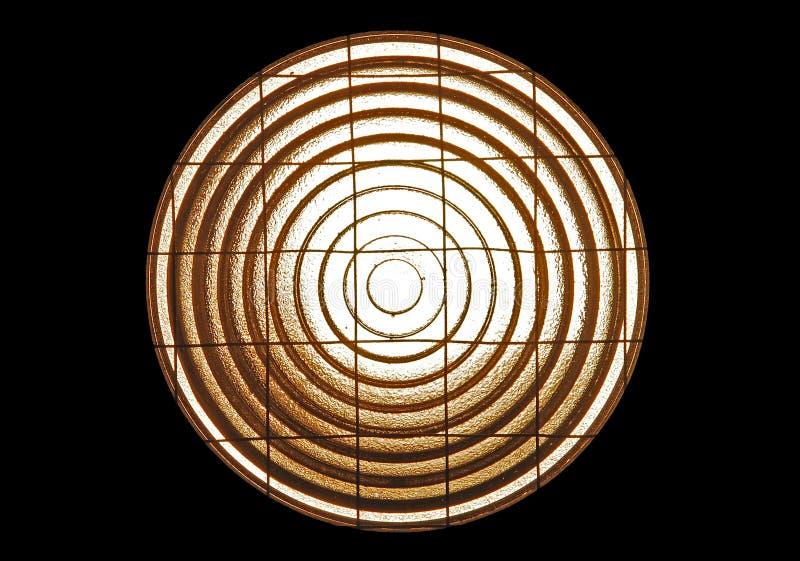 Obiettivo di Fresnel fotografie stock libere da diritti