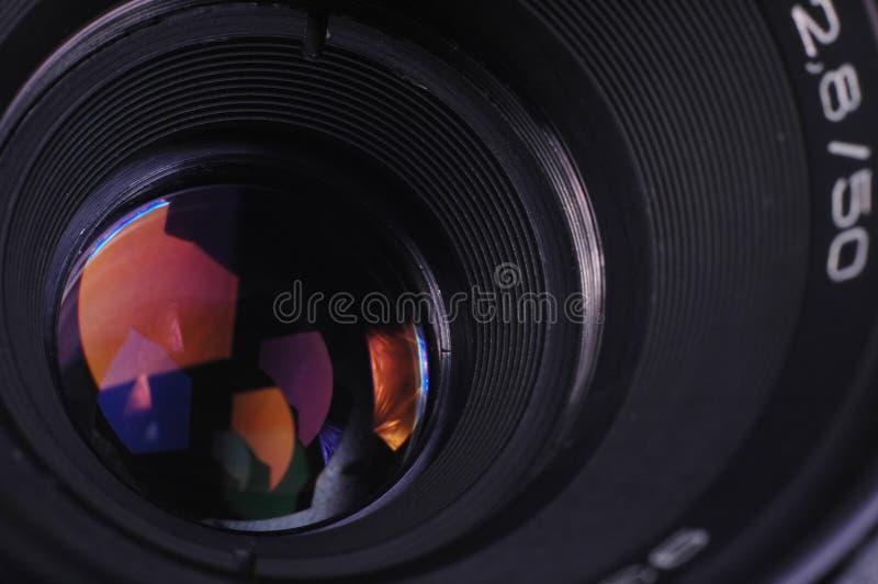 Obiettivo di macchina fotografica immagini stock libere da diritti