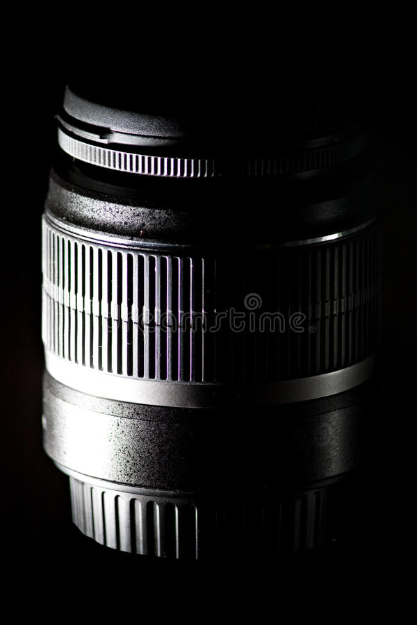 Obiettivo di macchina fotografica dello slr dello zoom del Telephoto fotografia stock libera da diritti