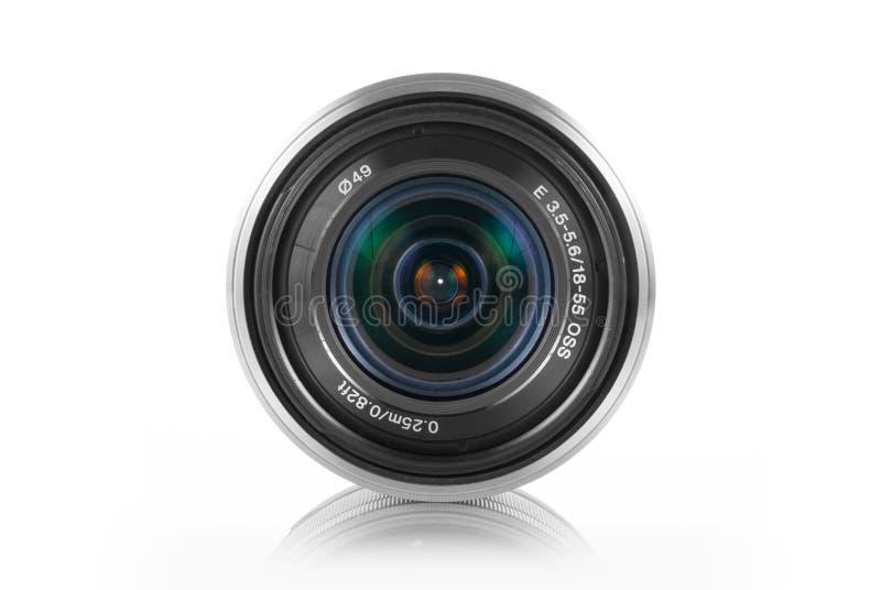 Obiettivo di Mirrorless immagine stock