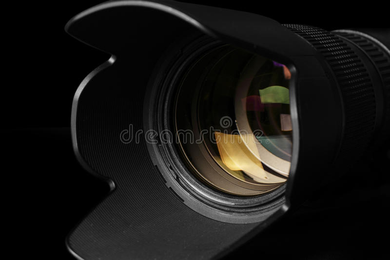 Obiettivo di Telephoto immagini stock