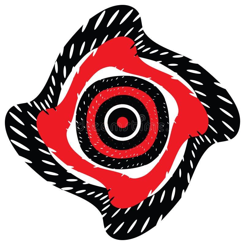 Obiettivo di turbinio illustrazione vettoriale