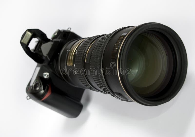 Obiettivo di zoom fotografie stock libere da diritti