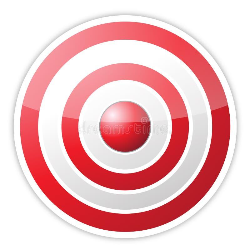 Obiettivo rosso con la parola di successo royalty illustrazione gratis