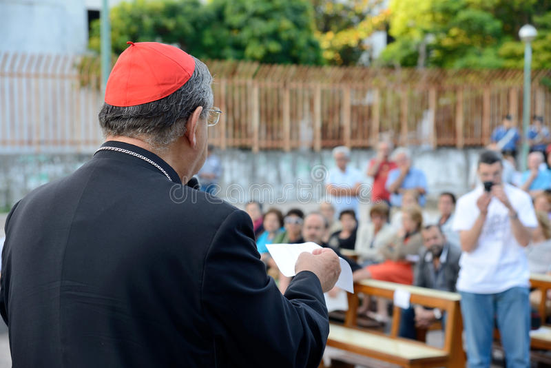 Download Obispo de Nápoles imagen de archivo editorial. Imagen de sagrado - 42440484