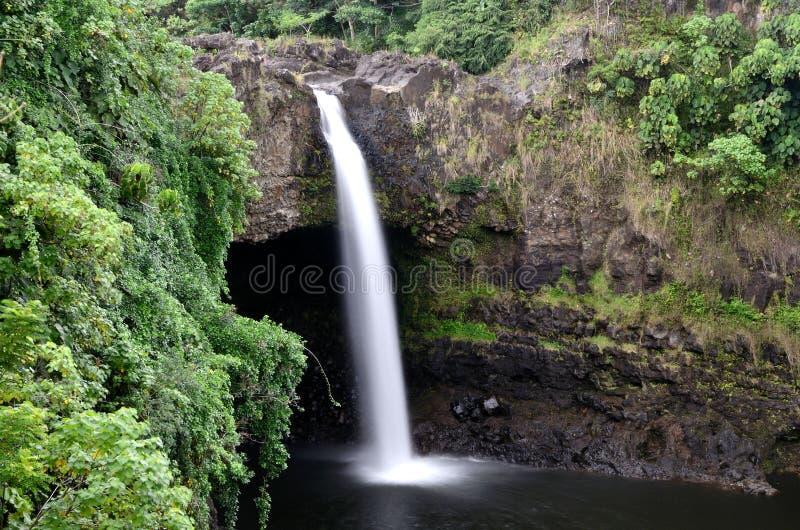 objętych Hawaii rainbow fotografia stock