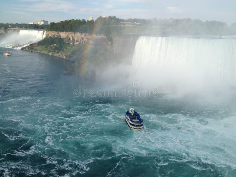 objętych Niagara obraz royalty free