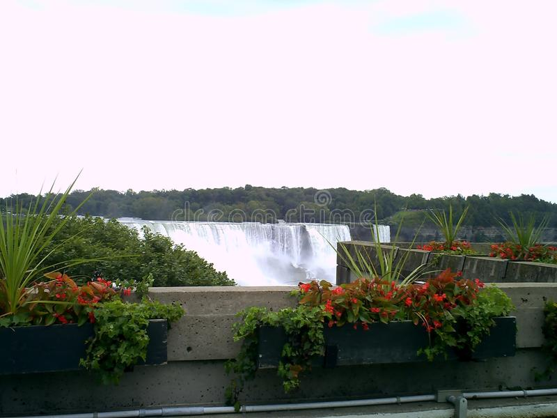 objętych Niagara zdjęcie stock