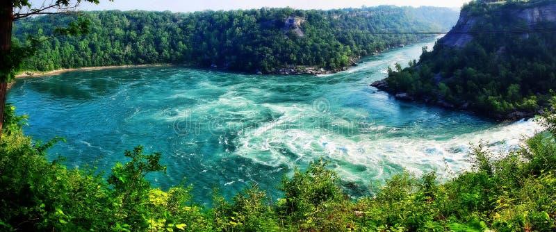 objętych Niagara usa zdjęcie stock