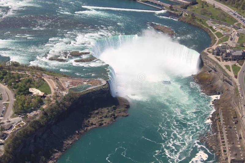 objętych podkowa Niagara fotografia royalty free