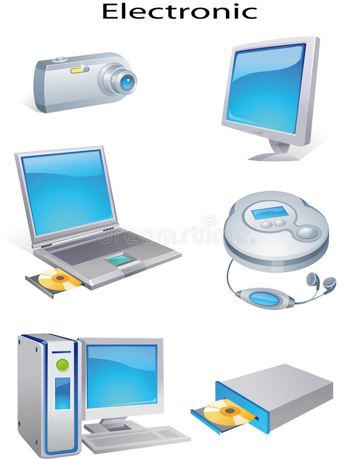 Download Object electronic stock illustration. Image of abstract - 5020853