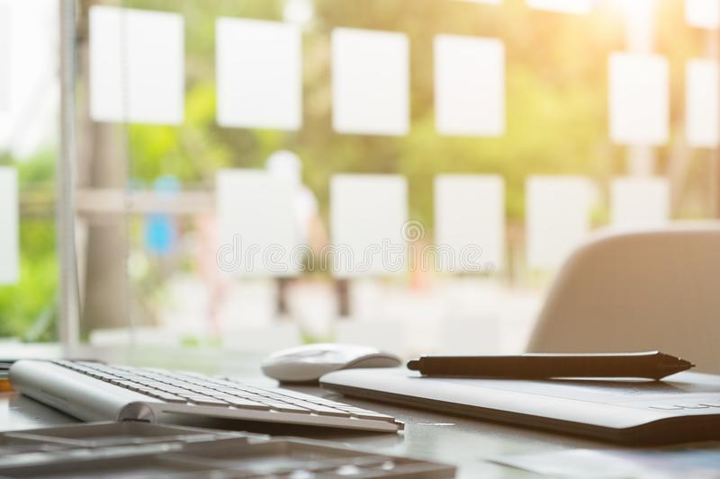 Graphic Design Studio creativity Ideas modern office workplace. Object workplace Graphic Design Studio creativity Ideas modern office workplace stock photo