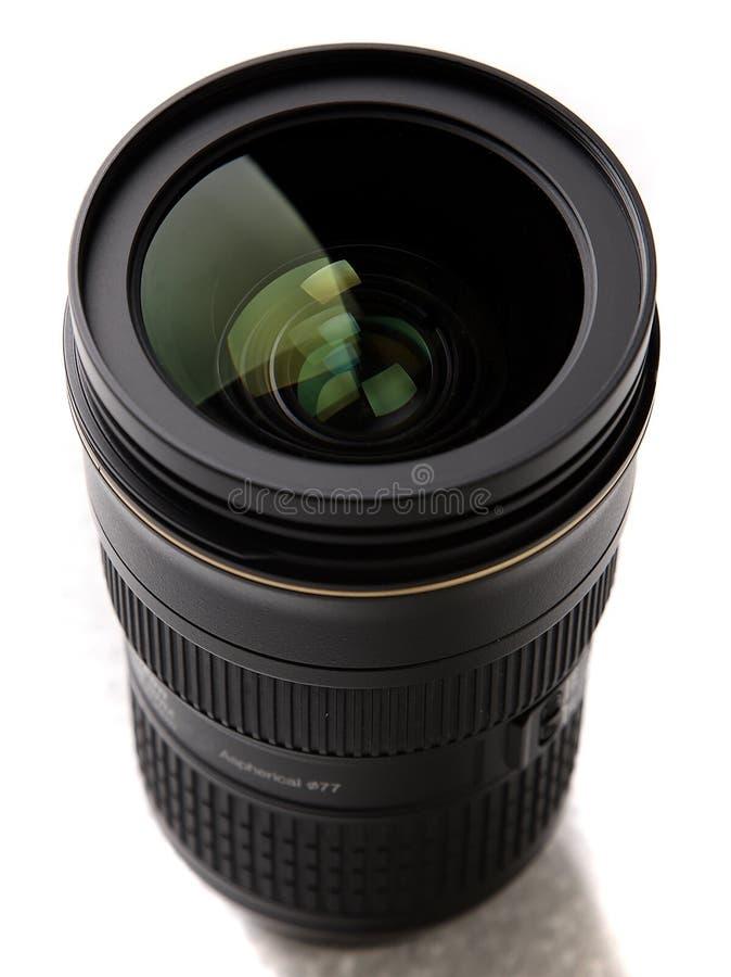 Objectif de caméra photo stock