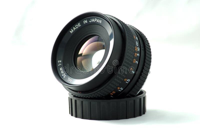 objectif de caméra de 50mm photos libres de droits