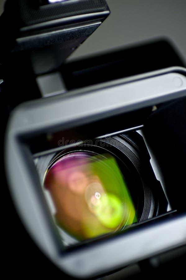Objectif de caméra de HD photo libre de droits