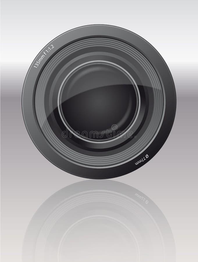 Objectiv para o fotógrafo ilustração stock