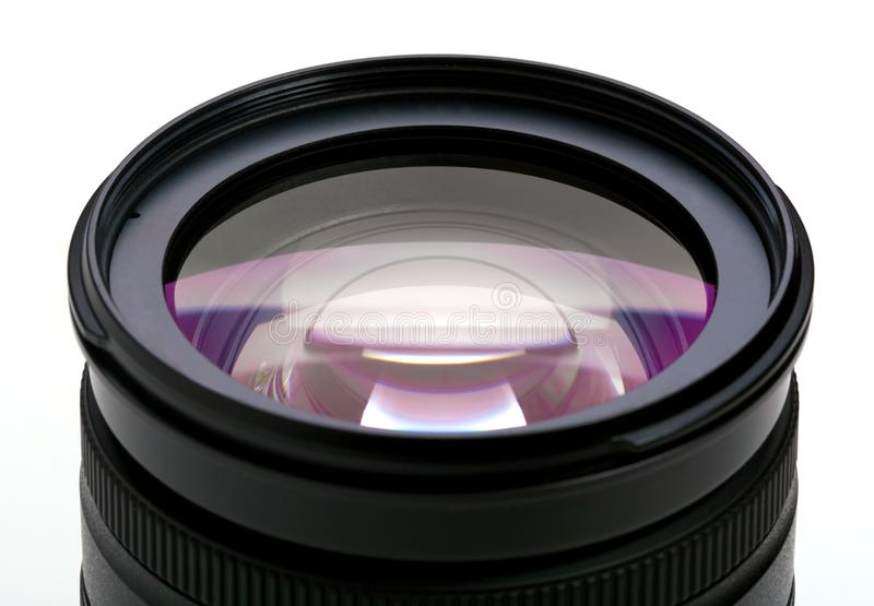 Objective with lense reflections royalty free stock images