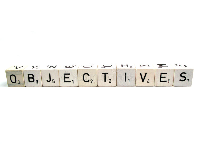 Objectives royalty free stock images