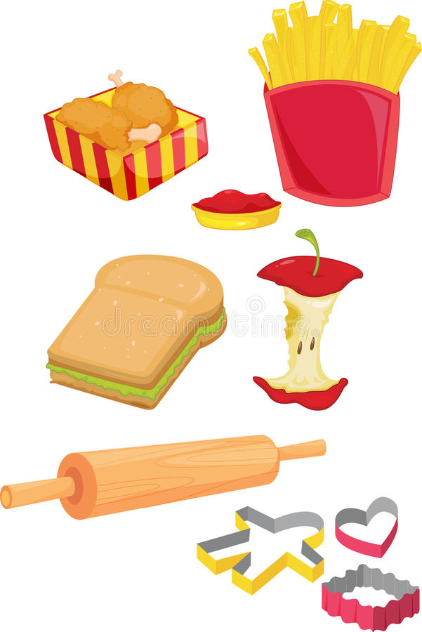 Objects vector illustration