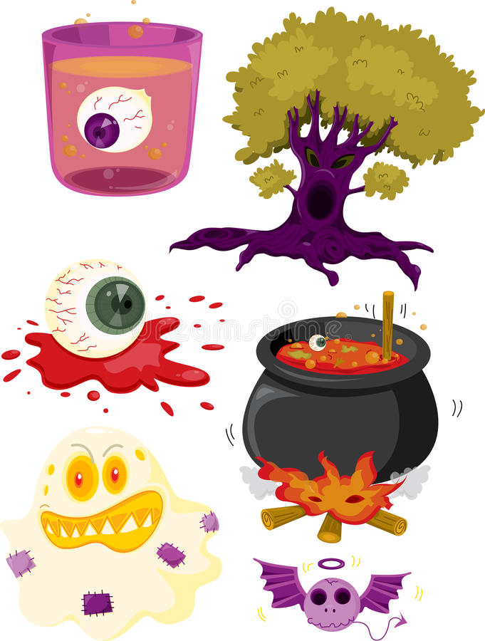 Objects royalty free illustration