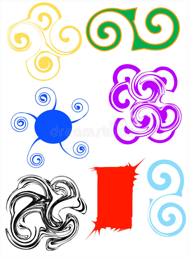 Download Objects abstraction stock illustration. Image of fancy - 9724862
