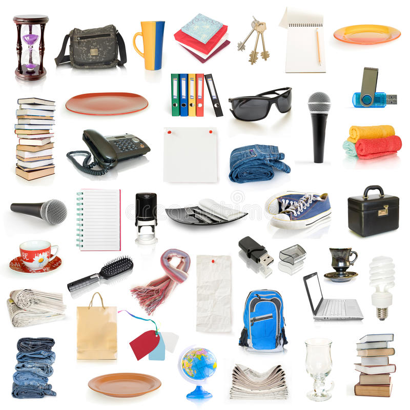 Download Objects collection stock photo. Image of business, collection - 17002324