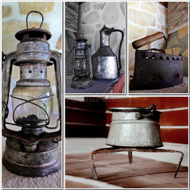 objects retro royaltyfri foto