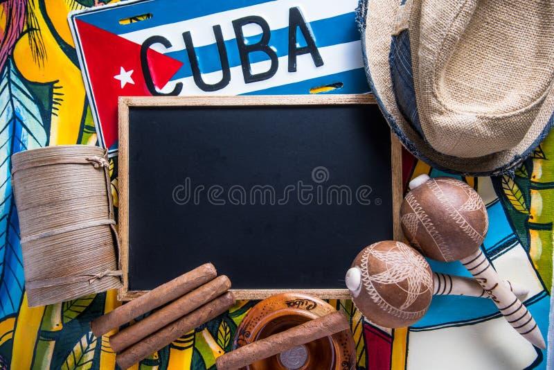 Objekt släkta Kubaloppet med kopieringsutrymme arkivfoto