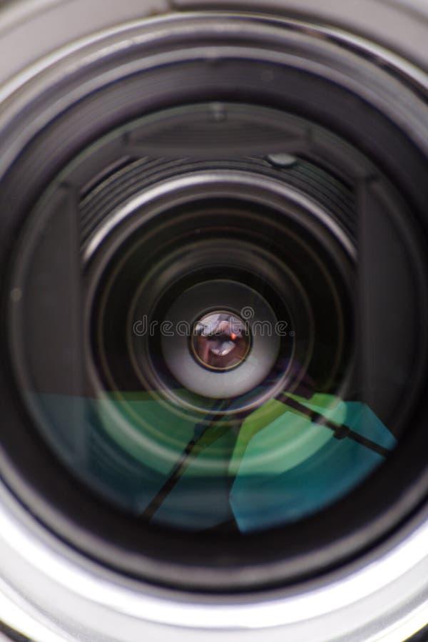 Objektiv stockfotos