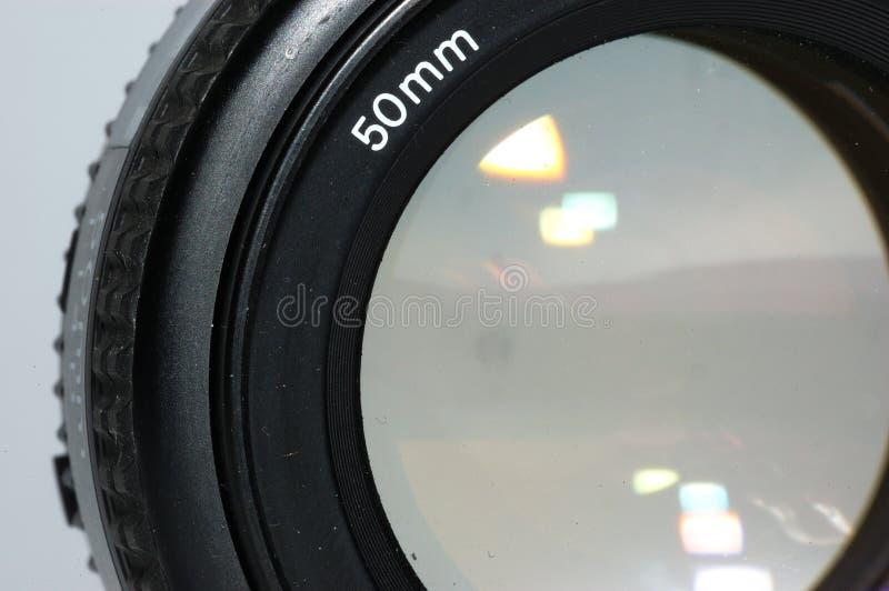 Objektiv stockfoto
