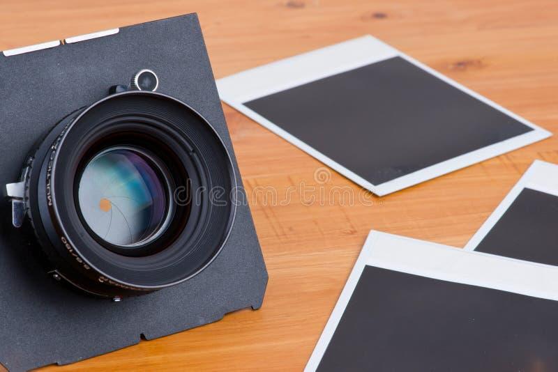 Objektiv und leere Abbildungen lizenzfreie stockfotografie