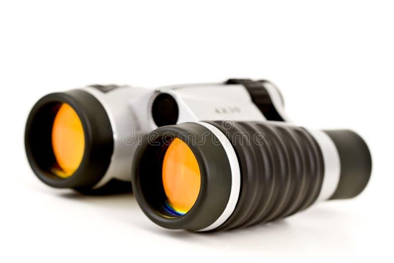 Objektive der Binokel-w/Orange lizenzfreies stockfoto