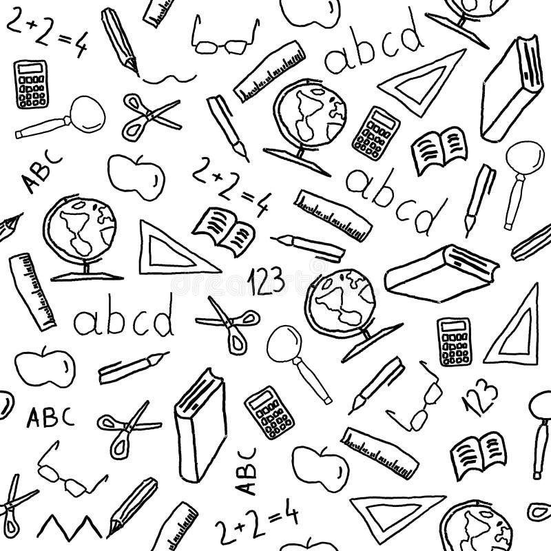 objektskola vektor illustrationer