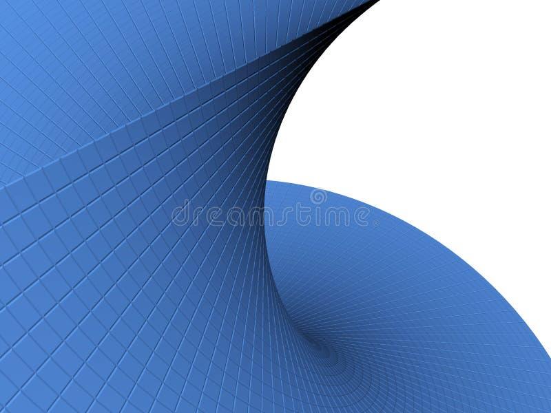 Objet 3d abstrait illustration libre de droits