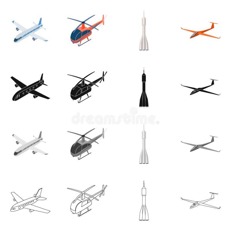 Objet d'isolement de symbole de transport et d'objet Collection de transport et de symbole boursier de glissement pour le Web illustration de vecteur