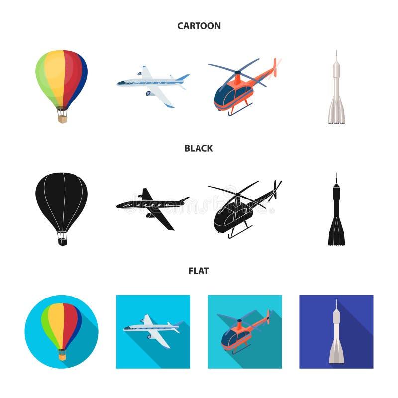 Objet d'isolement de symbole de transport et d'objet Collection de transport et d'illustration courante de glissement de vecteur illustration libre de droits