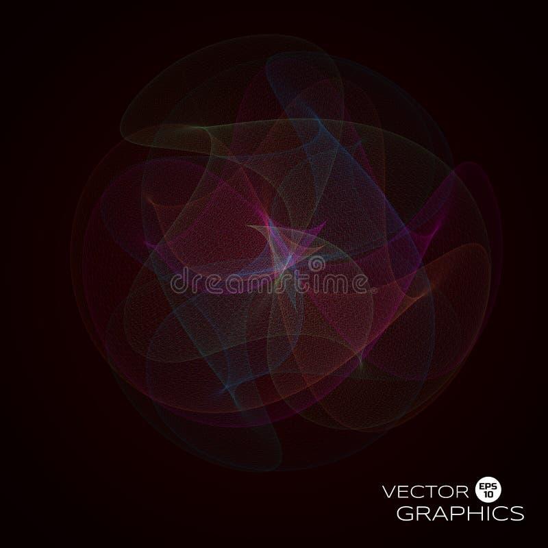 objet du vecteur 3d illustration libre de droits
