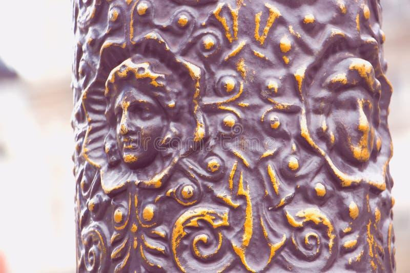 Objet en bronze historique photos stock