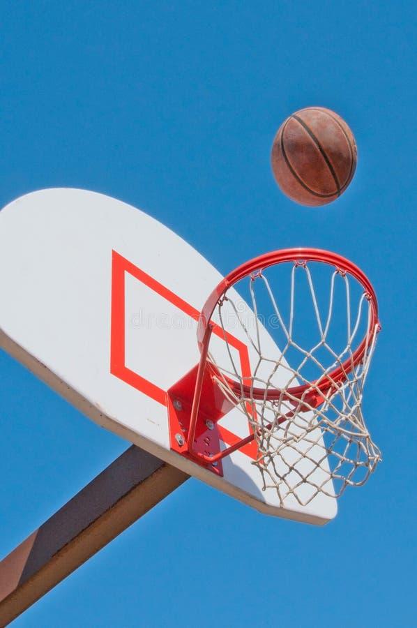 Objetivo de Baseketball imagens de stock