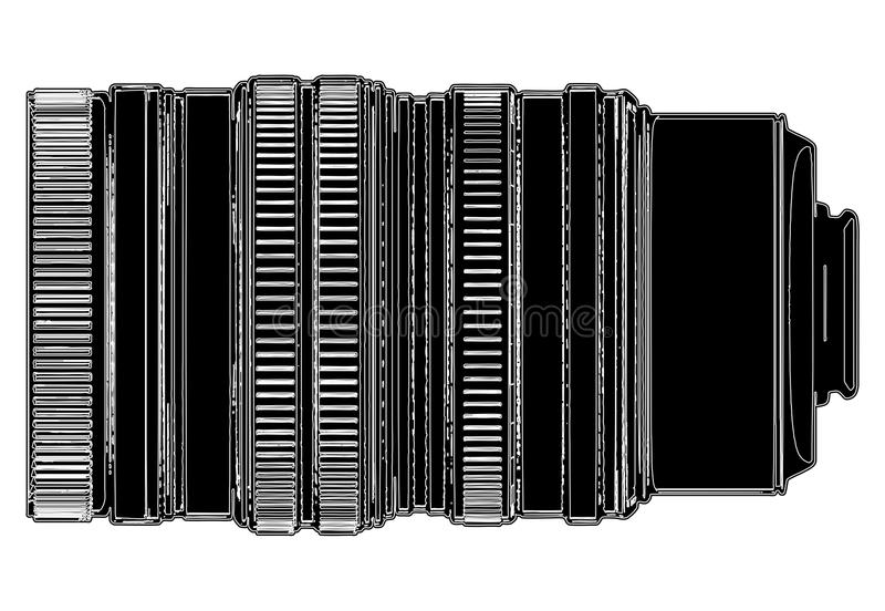 Objetivo del vector 02 de la cámara libre illustration