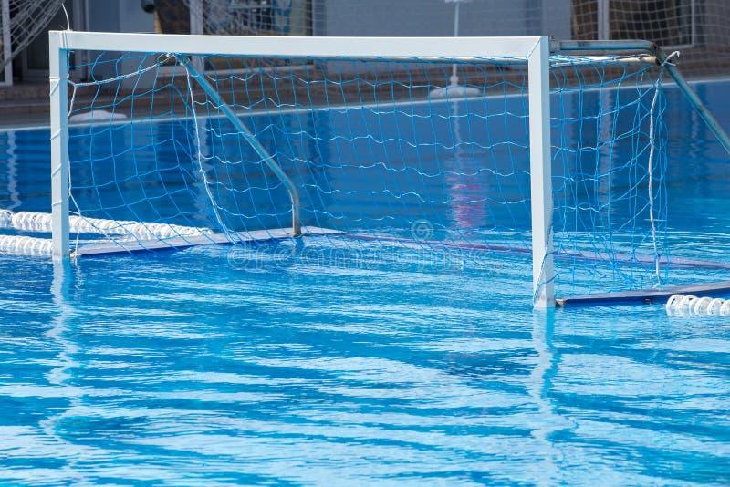 Objetivo do polo aquático foto de stock royalty free