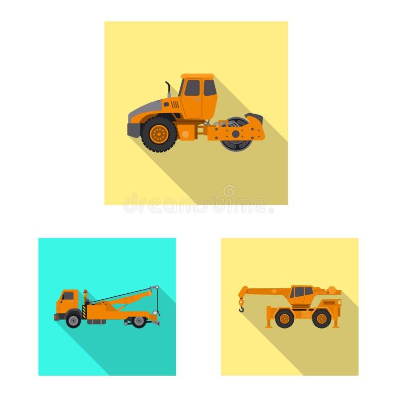 Objeto aislado de la muestra de la estructura y de la construcción Colección de estructura y de ejemplo común del vector de la ma stock de ilustración