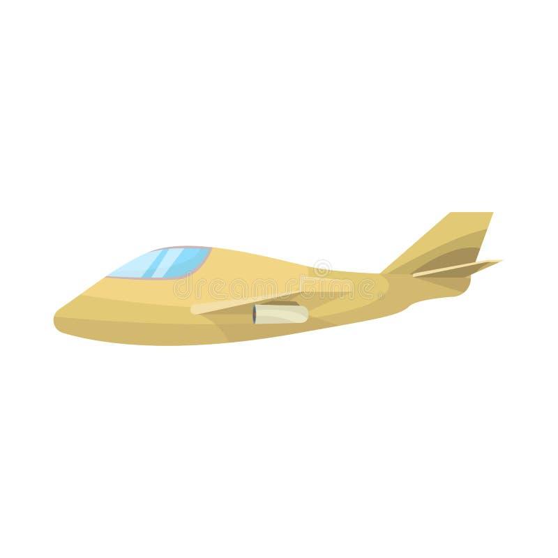 Objeto aislado del icono del avión y del espacio Fije del avión y del ejemplo común aerotransportado del vector ilustración del vector