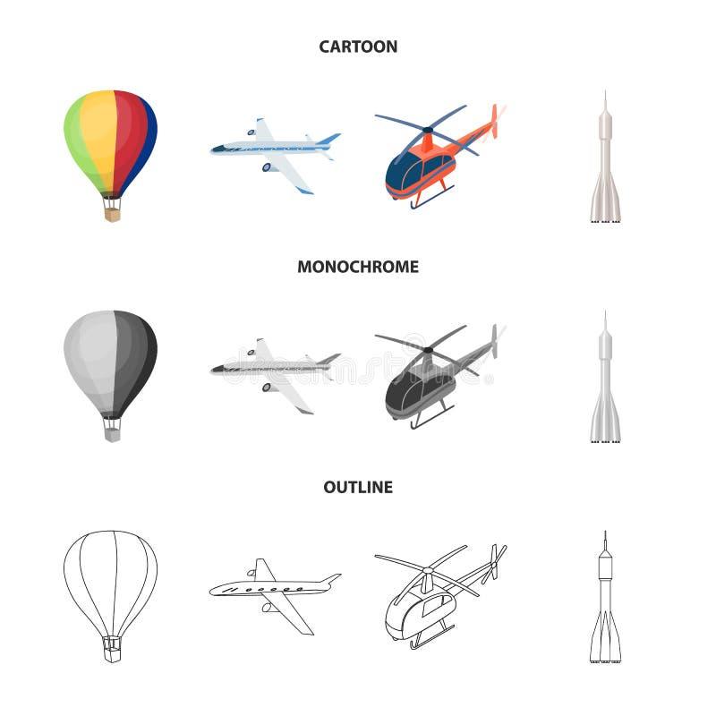 Objeto aislado del icono del transporte y del objeto Colecci?n de transporte e icono de deslizamiento del vector para la acci?n ilustración del vector
