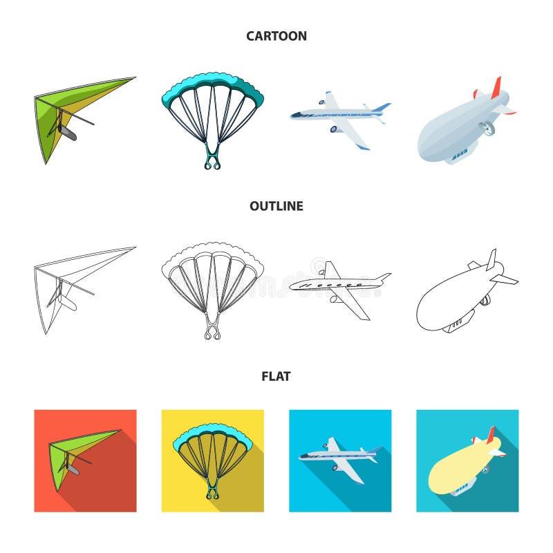 Objeto aislado del logotipo del transporte y del objeto Fije de transporte y del ejemplo com?n de deslizamiento del vector libre illustration