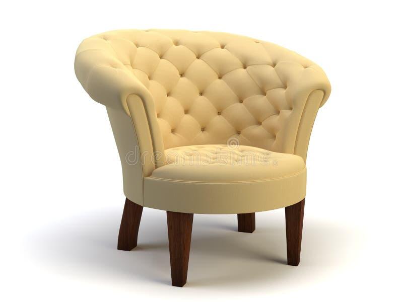 Objeto da cadeira ilustração do vetor