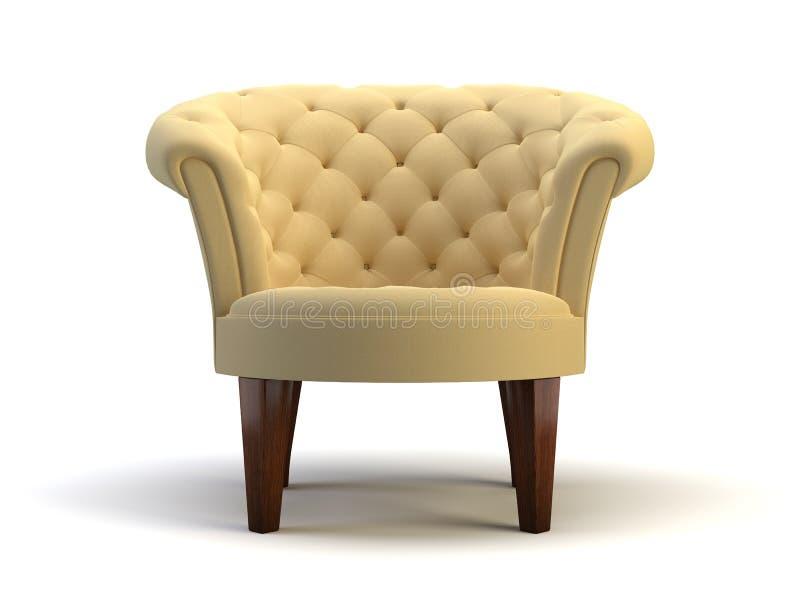 Objeto da cadeira ilustração royalty free