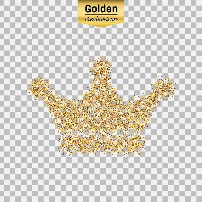 Objeto del brillo del oro libre illustration