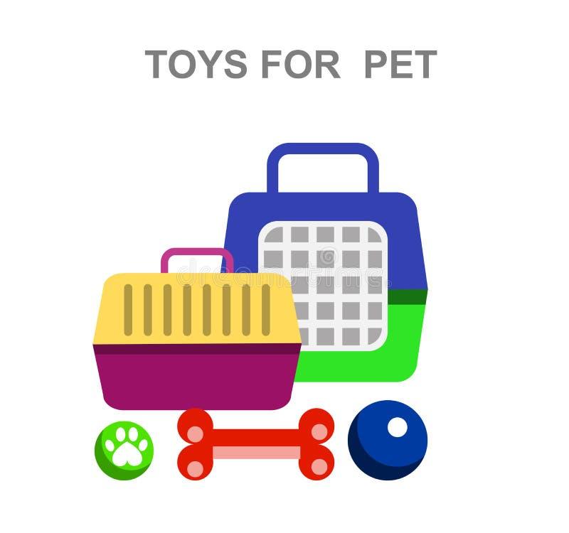 Objeto e iconos veterinarios de alta calidad libre illustration