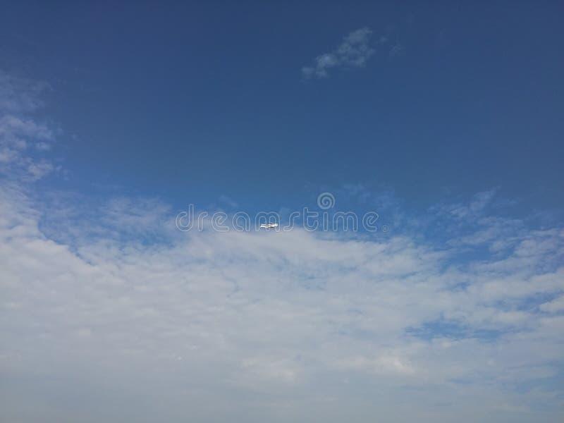 Objeto en el cielo fotos de archivo